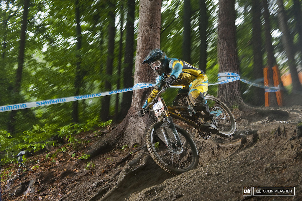 racing to qualify for the 2010 Maribor World Cup Downhill Race in Slovenia.