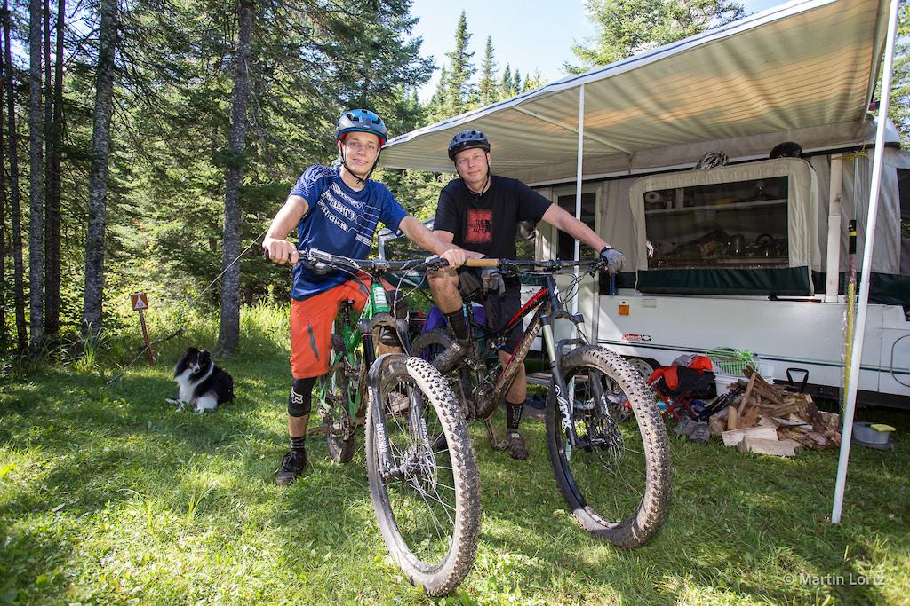 The Mountain Bike Tourist - Quebec Road Trip Part Three - Sentiers du Moulin