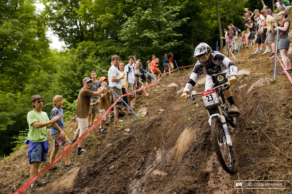 Sam Blenkinsop was the other Yeti rider who supported Gwin on his rise. Ironic that they are both Kiwis.