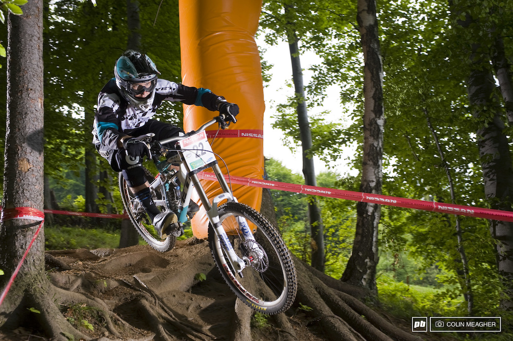 Justin Leov was one of the riders instrumental in bringing the fledgling Gwin into full flight.