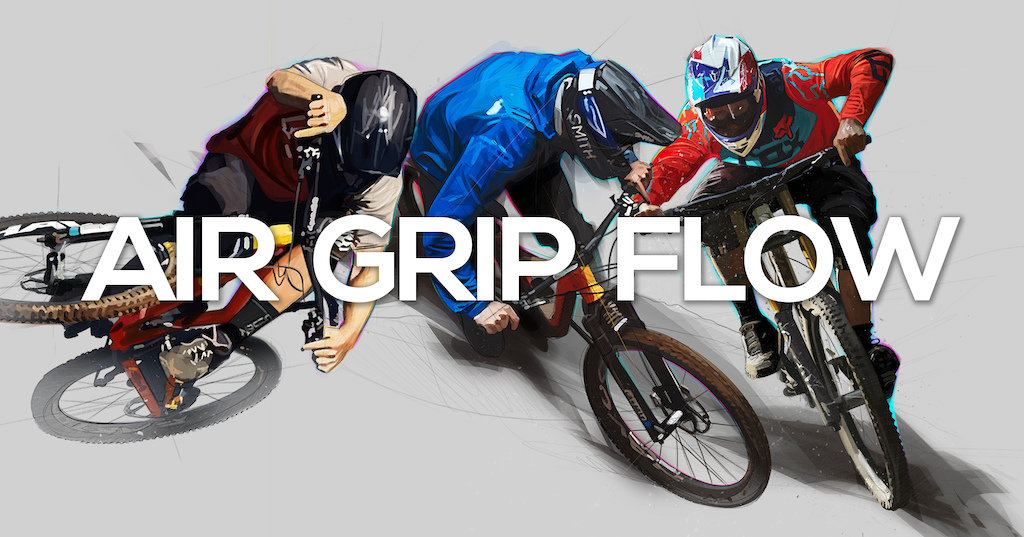 AIR GRIP FLOW MTB Art - An artist collaboration - http mtbart.bigcartel.com