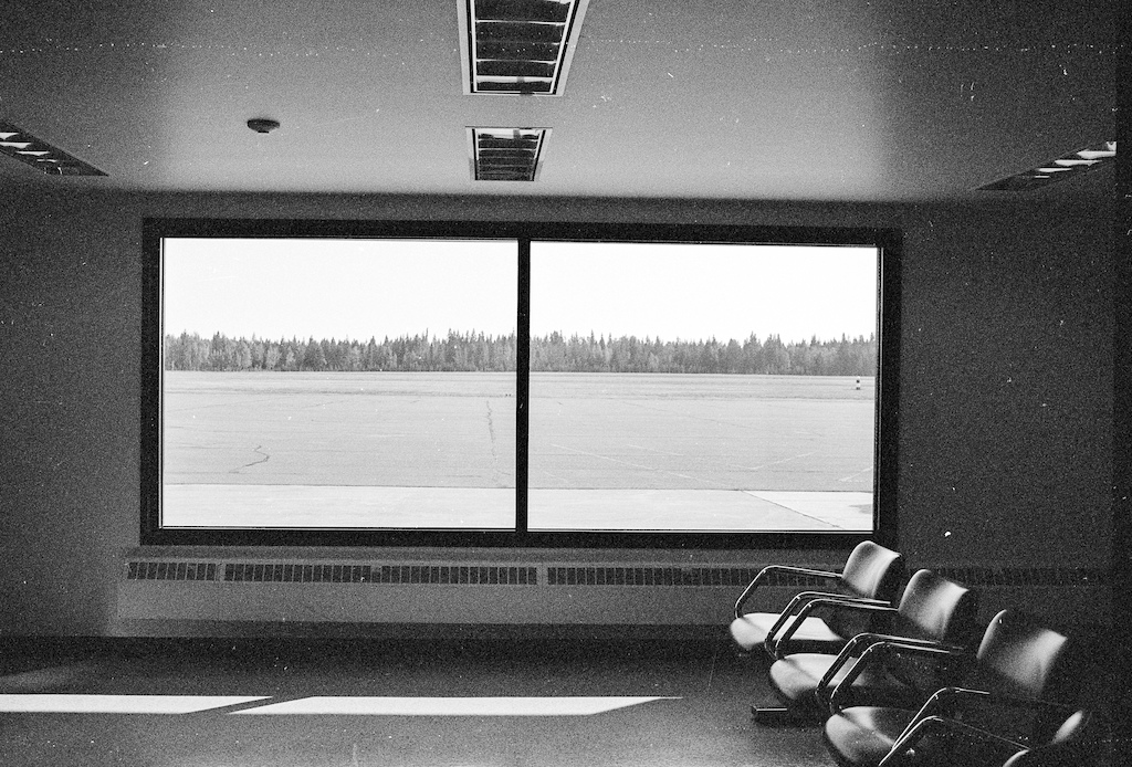 The Airport window