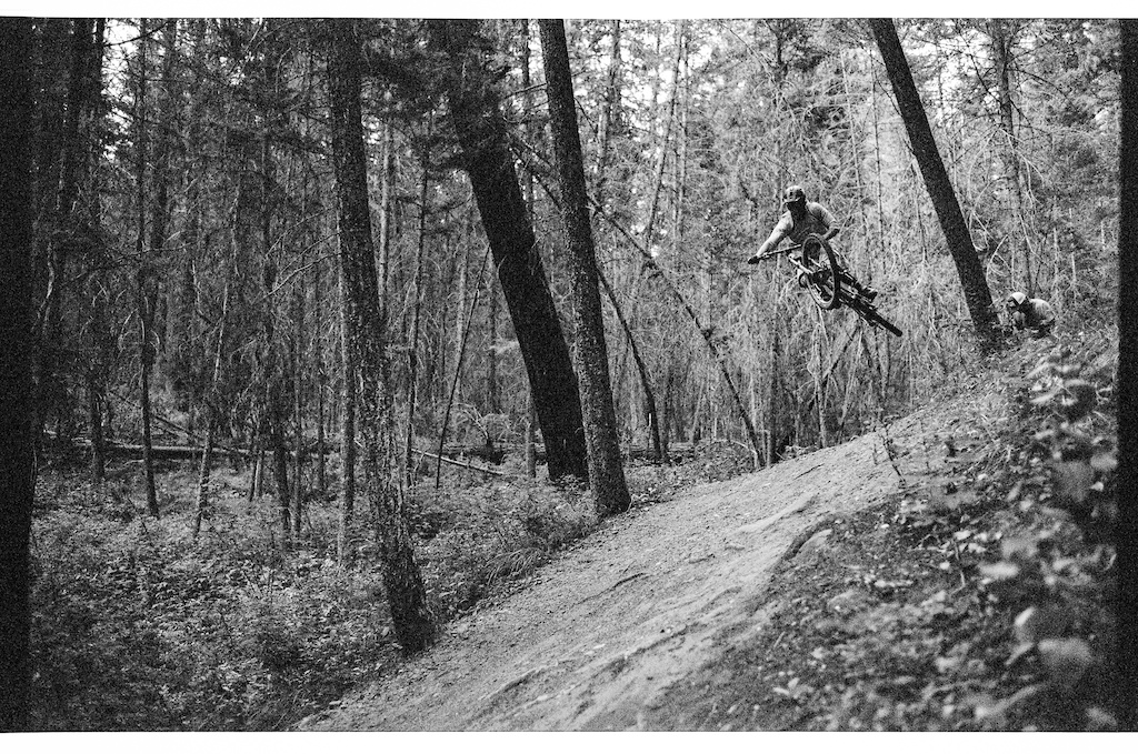It's his hometrail, pretty much his backyard.