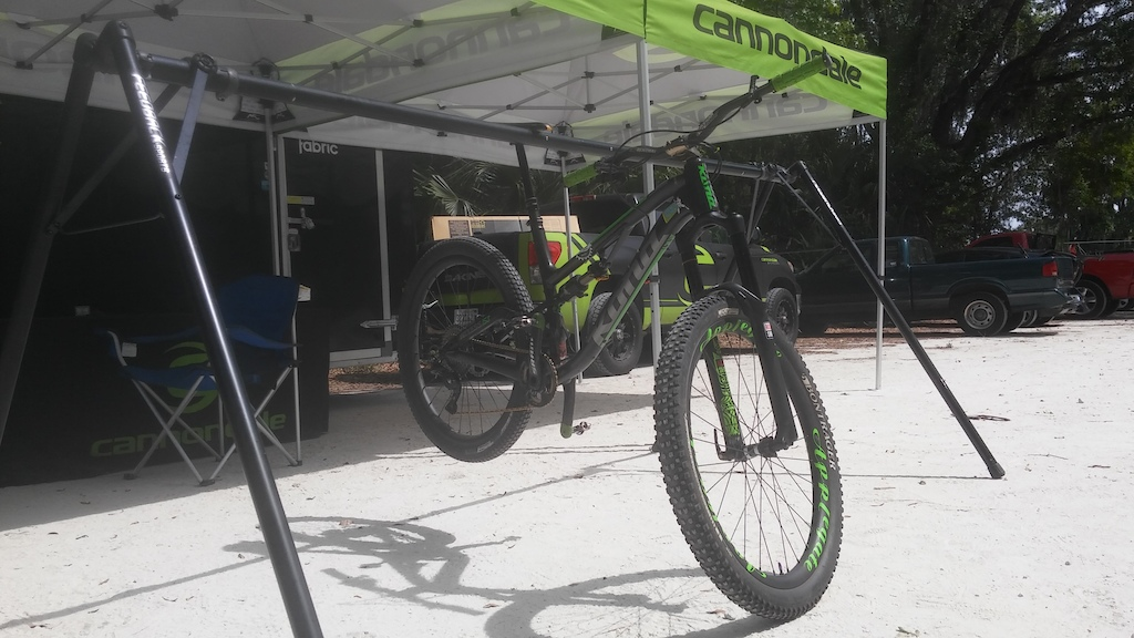 The fastest bike at the Cannondale demo was not a Cannondale