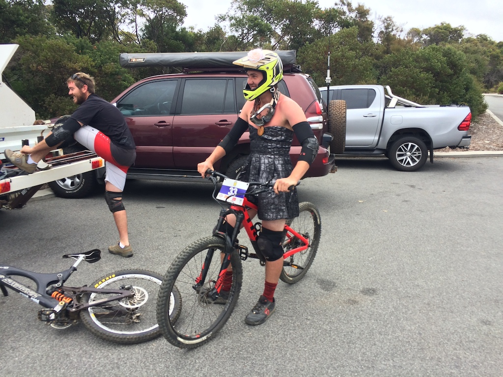 More Proof that Enduro riders are Cross Dressers
