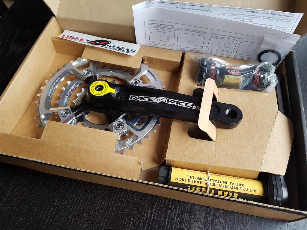 0 Raceface Atlas AM cranks/rings/bb (NEW!!)