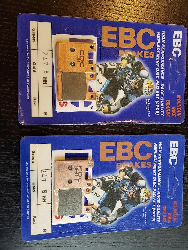 0 Hope EBC Gold brake pads (NEW!)