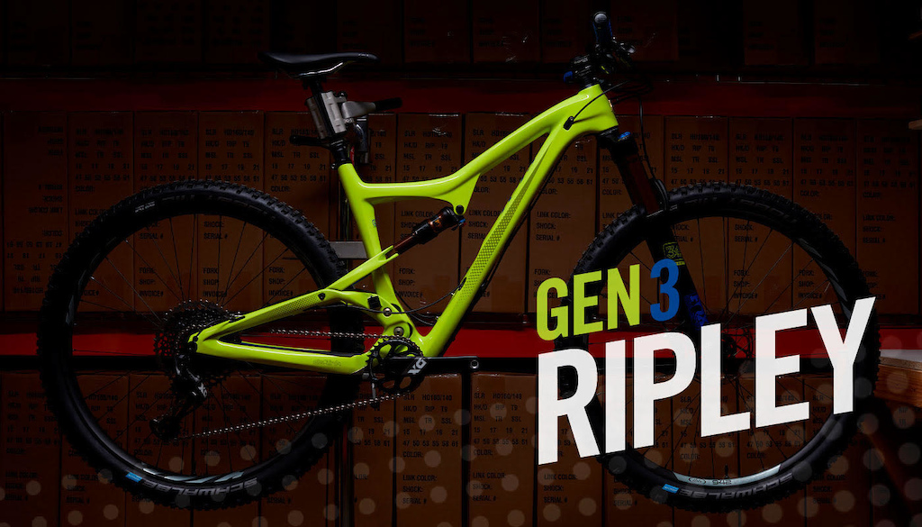 Ibis Updates the Ripley - First Look - Pinkbike