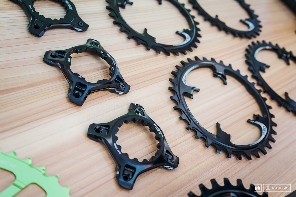 OneUp covers a wide range of the direct mount chainrings available with SRAM Hope Race Face e thirtheen and Cannondale.