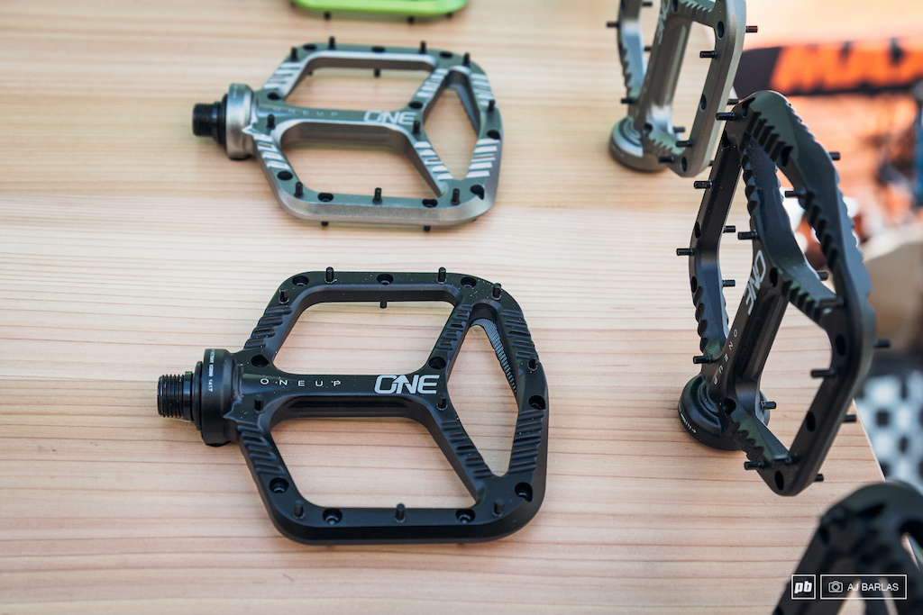 OneUp Components brand new Alloy pedal. The pedal will retail for roughly 125 USD
