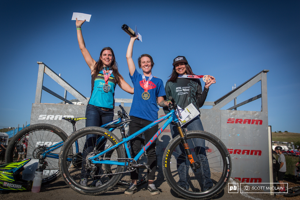1st Place Danielle Beecroft 2nd Place Anneke Beerten 3rd Place Kialani Hines