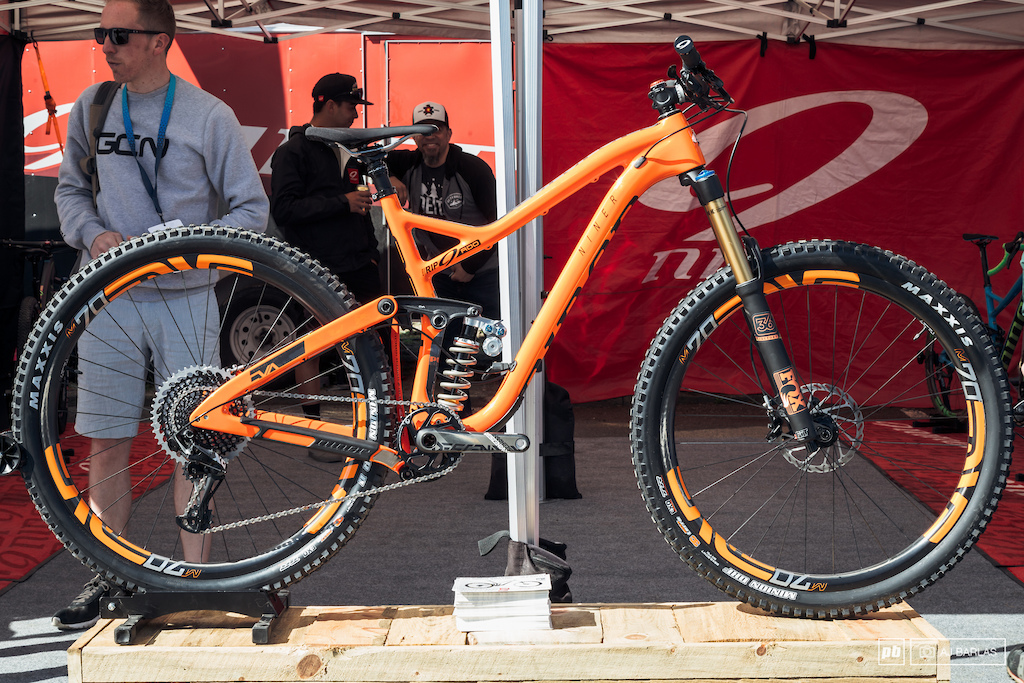 The Niner RDO with Push part of their partnership bike.