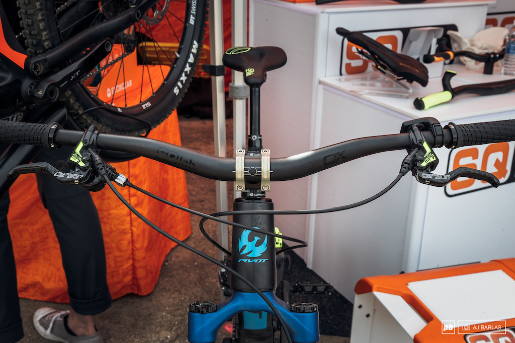 The bars feature a 4 degree upsweep and come in a range of rise options.