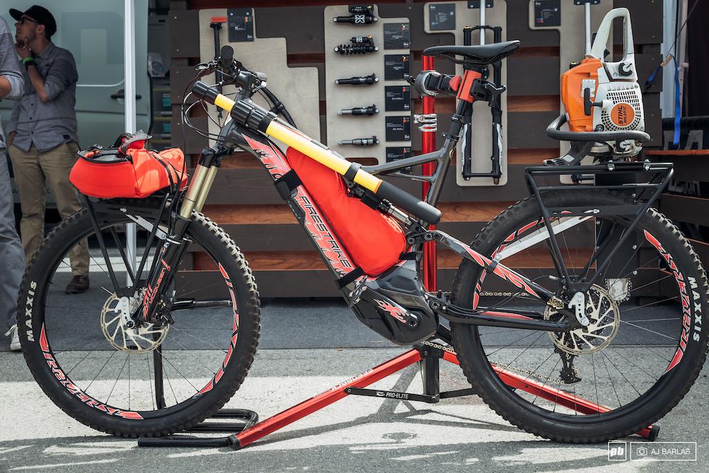 Fireman s e-bike