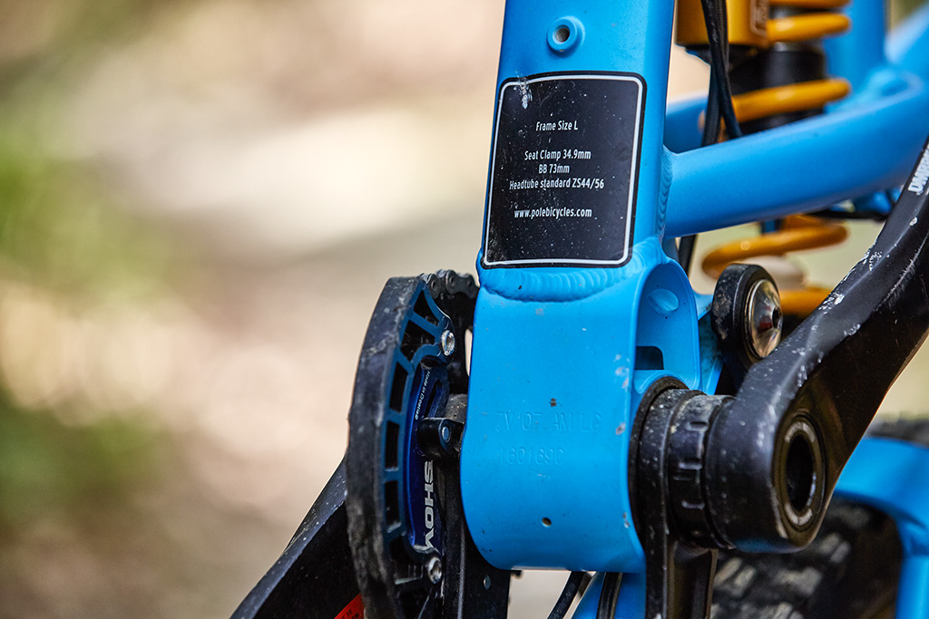 Pole Evolink 140 Review - Frame details