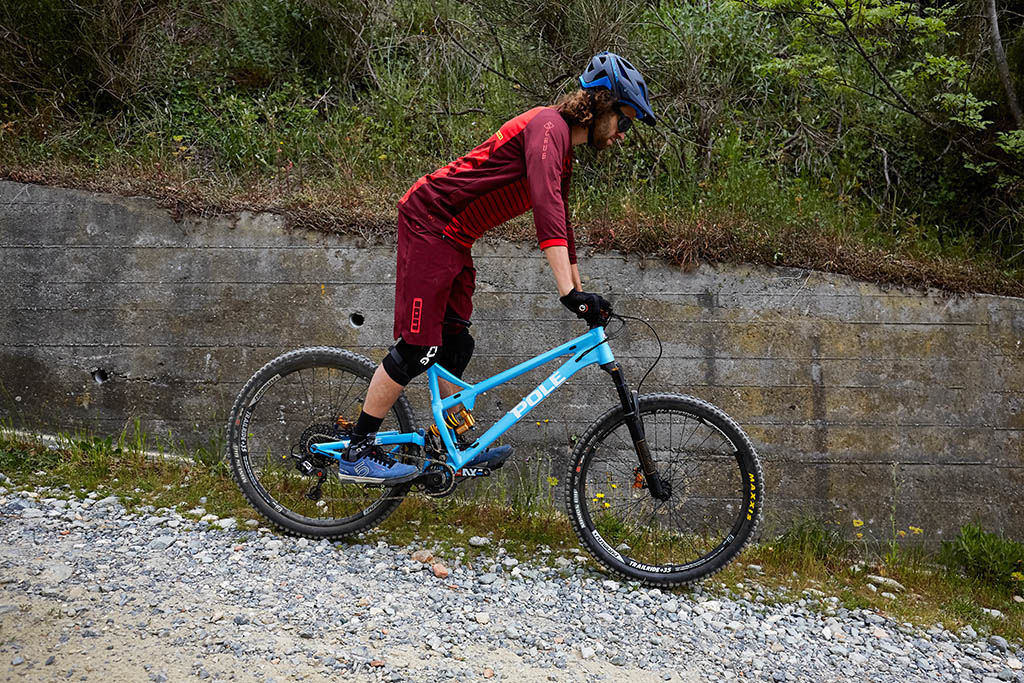 Pole Evolink 140 Review - descending