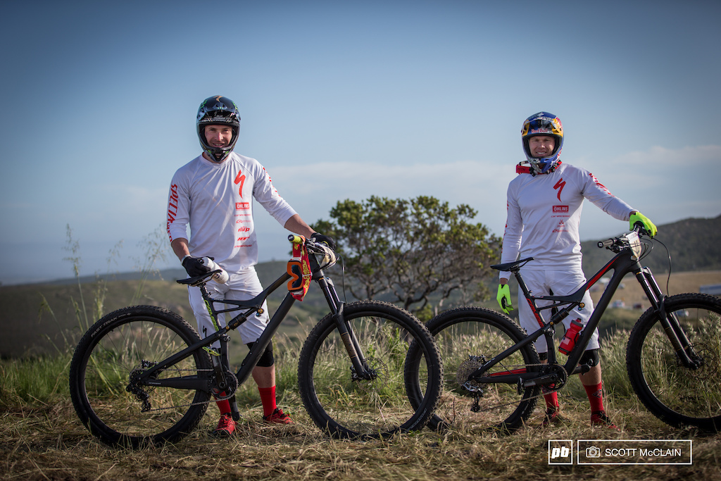 A quick bike check from the boys on the Specialized team. The race played out and these guys ended up at the top and the bottom of the podium Graves 1st - Keene 5th