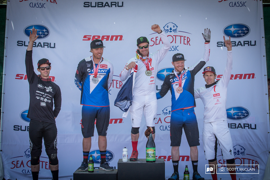 Pro Men s Podium - 1st Place Jared Graves 2 02.387 2nd Place Mike Day 2 04.469 3rd Place Josh Carlson 2 05.496 4th Place Kiran Mackinnon 2 06.040 5th Place Curtis Keene 2 06.371