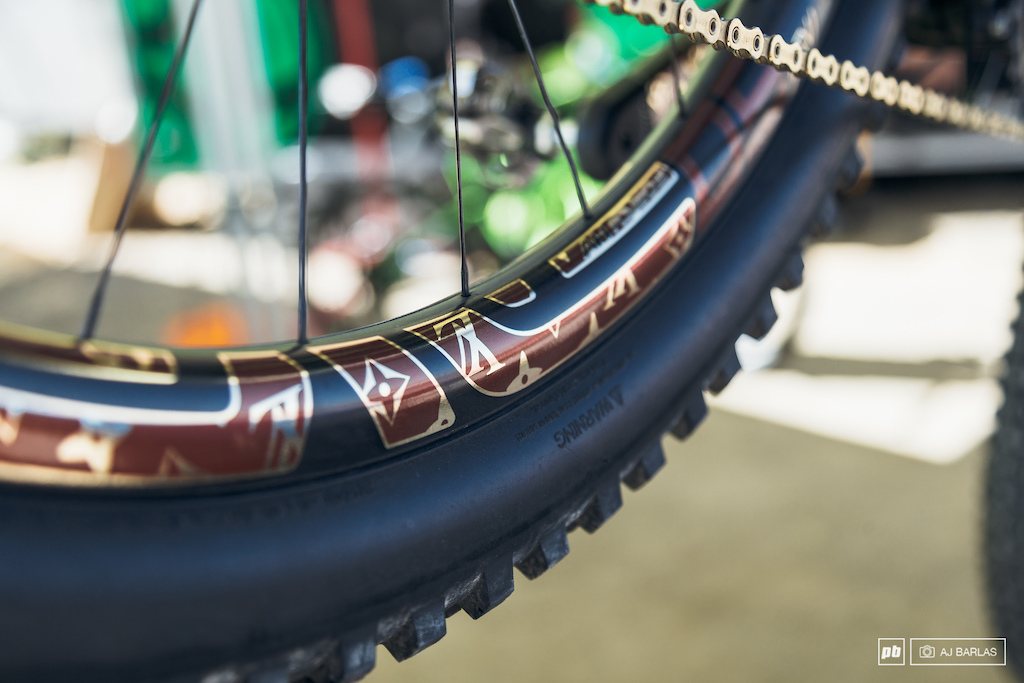 And on the Enve decals too.