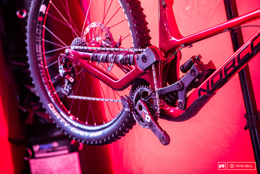 Norco aren t wanting to reveal anything about their new frame until or rather if it enters production.