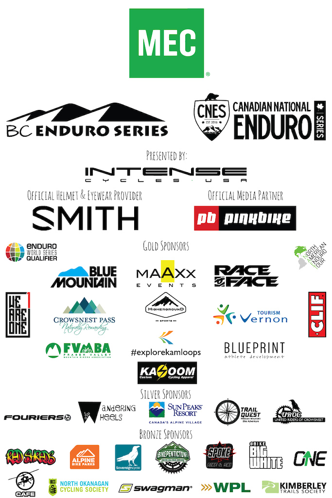 Fraser Valley Course Release MEC Canadian National Enduro Series presented by INTENSES cycles