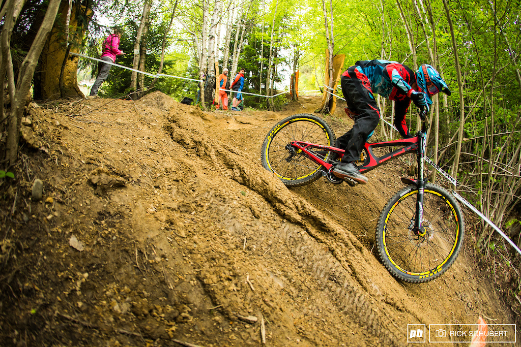 U19 winner Sylvain Cougoureux was just as fast as his brother Benoit in the elite class what would have been 8th place