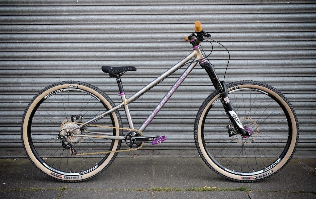 Prototype Steel long wheelbase Enduro Bike.