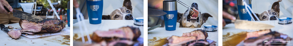 Seth from Camelbak makes a mean Tri Tip roast... Want it. Want it. YES! Want more...
