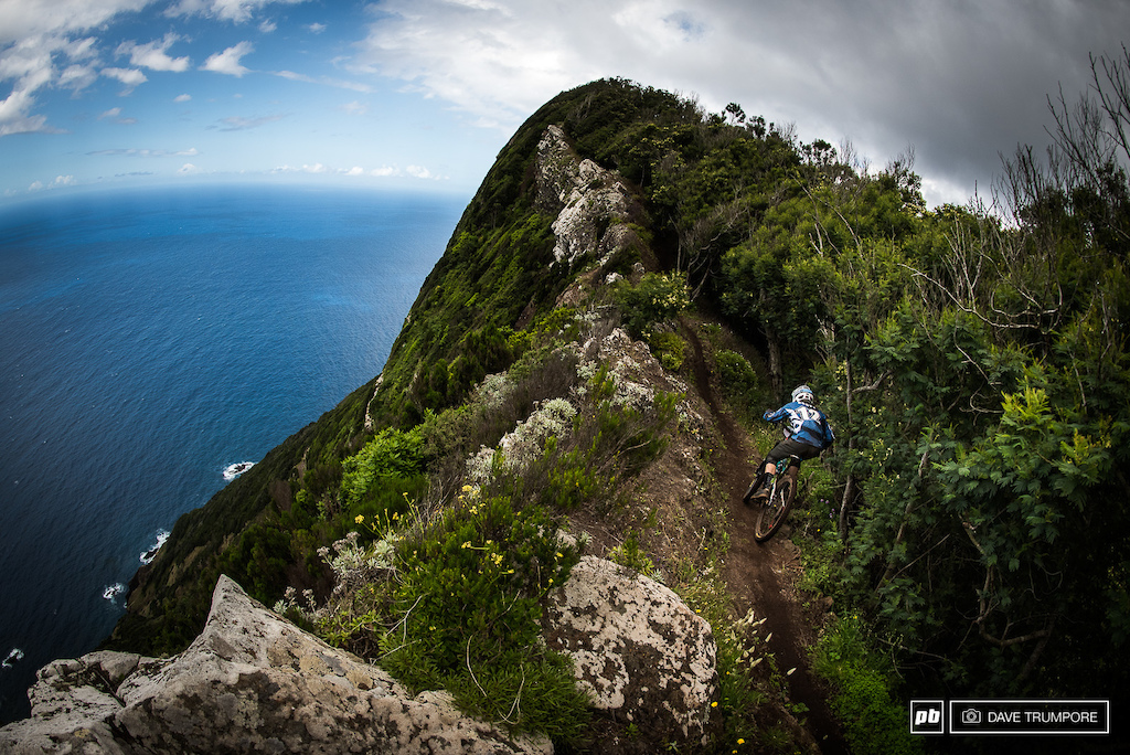 Mark Scott has been riding super aggressive all week and is looking like on of the top contenders here in Madeira.