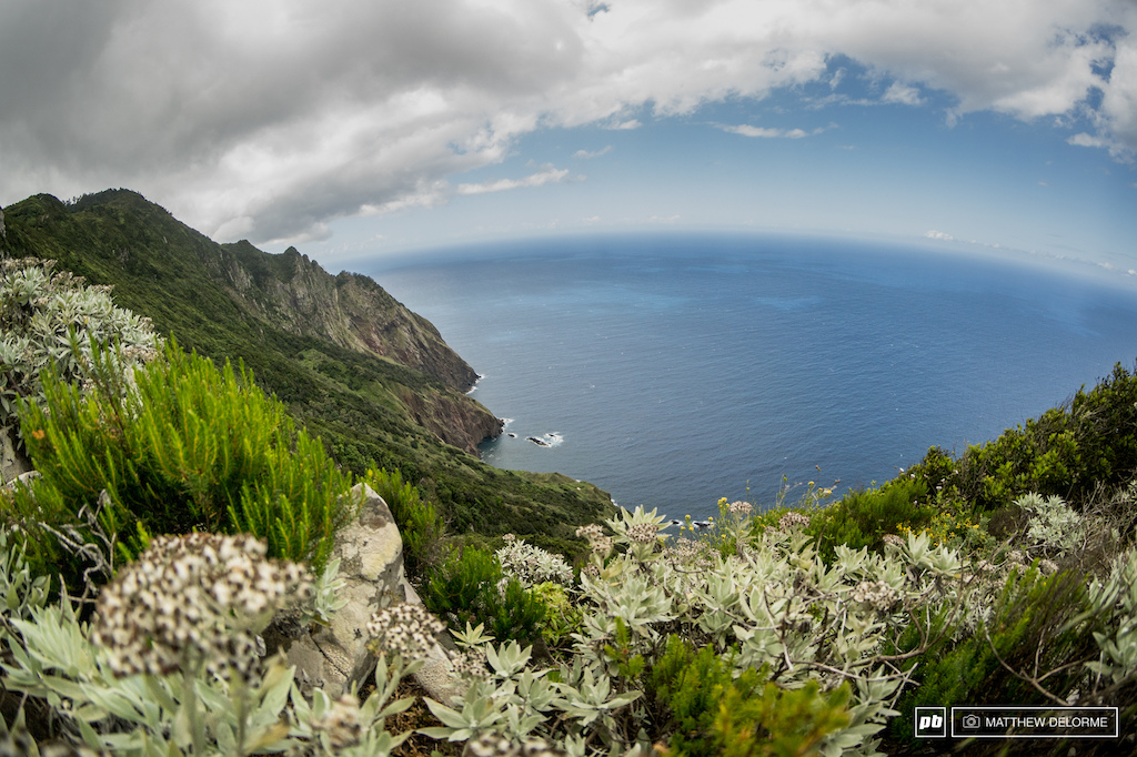 Stage 8 has that iconic Madeira view.