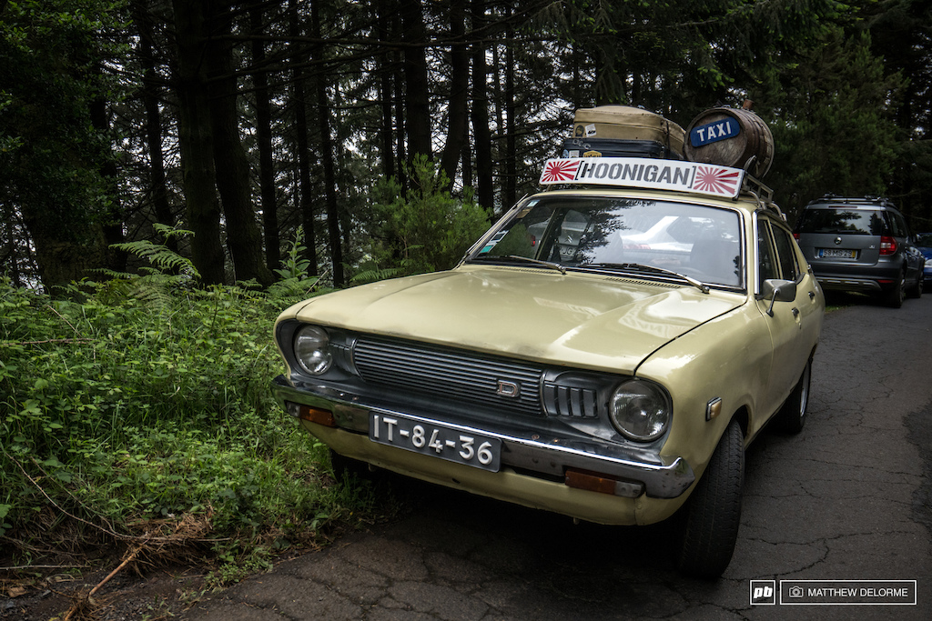 The oldest taxi on Madeira?