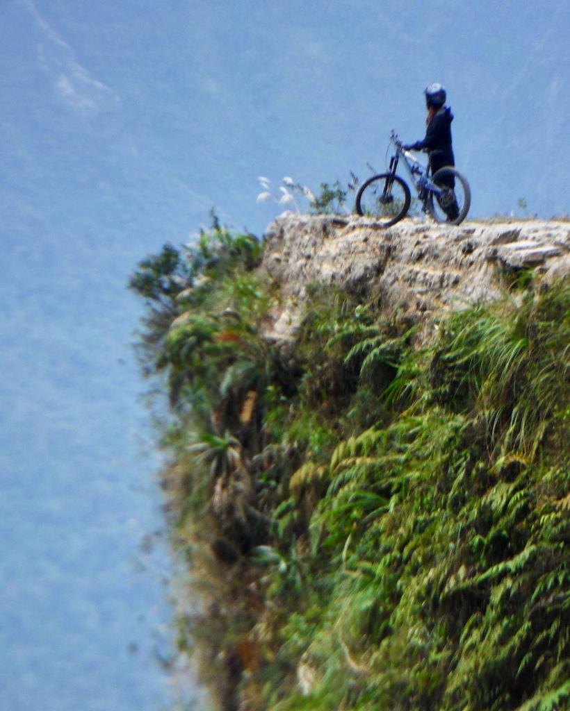 """They don't call it """"Camino de la Muerte"""" for no reason."""