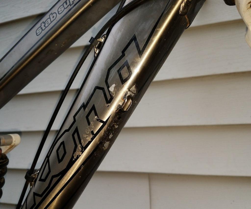 2010 Kona Stab Supreme, World Cup fork RC4 Rear M size