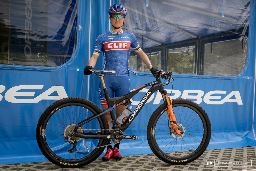 Catharine Pendrel Bike Check Orbea