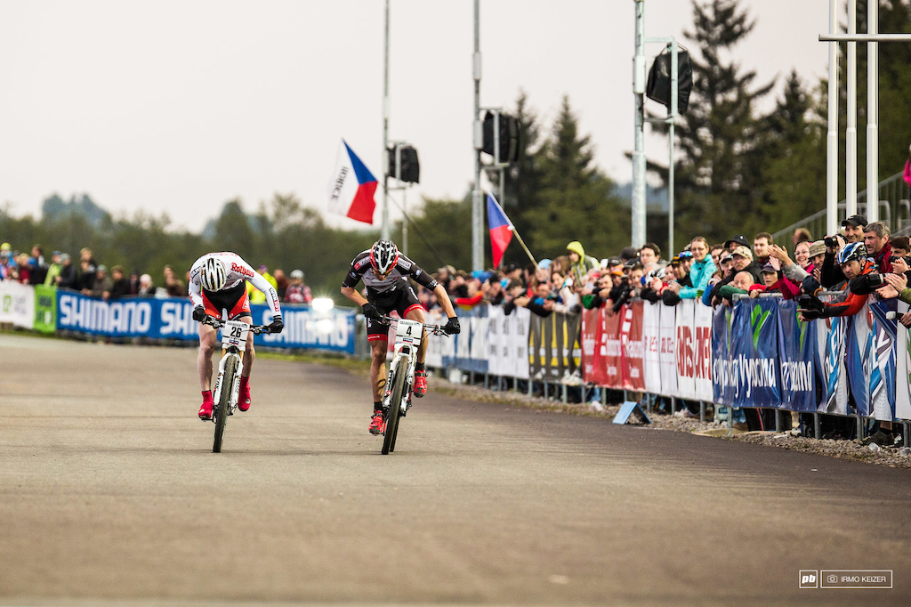 Kenta Gallagher won the XCE World Cup in an era gone by.