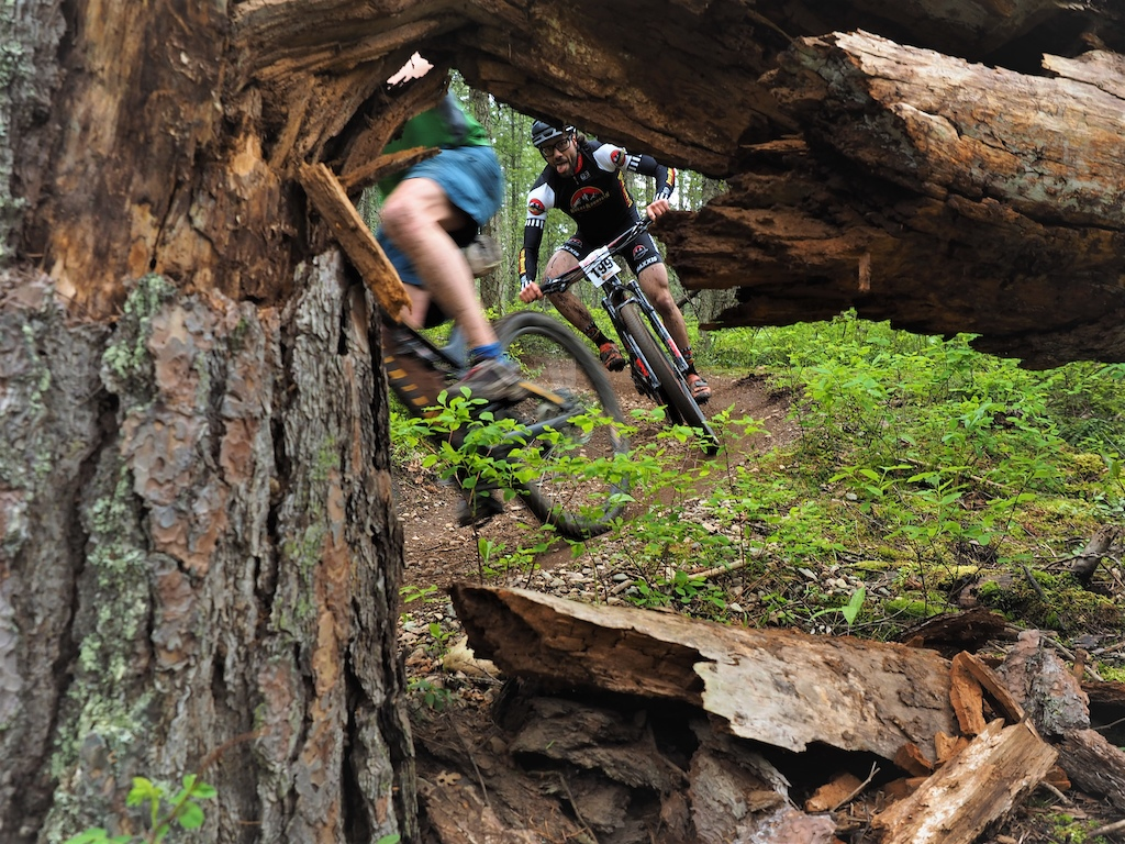 Tyler from Rocky Mountain Bikes is an absolute SLAYER of trail even with possibly the hairiest legs in the industry .