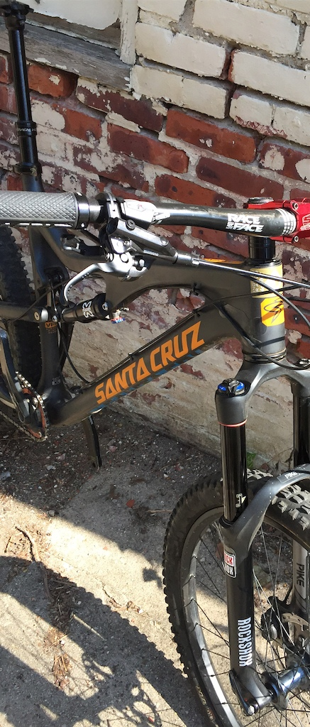 2014 Santa Cruz Bronson v1 carbon XL