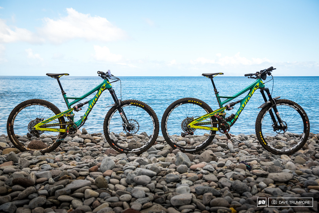 Devinci Enduro Team Bike Checks Madiera EWS