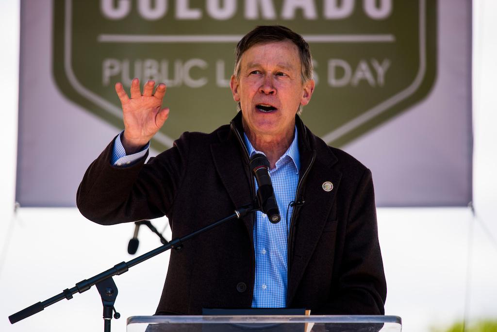 Gov. John Hickenlooper declared May 20 Public Lands Day in Colorado on Saturday.