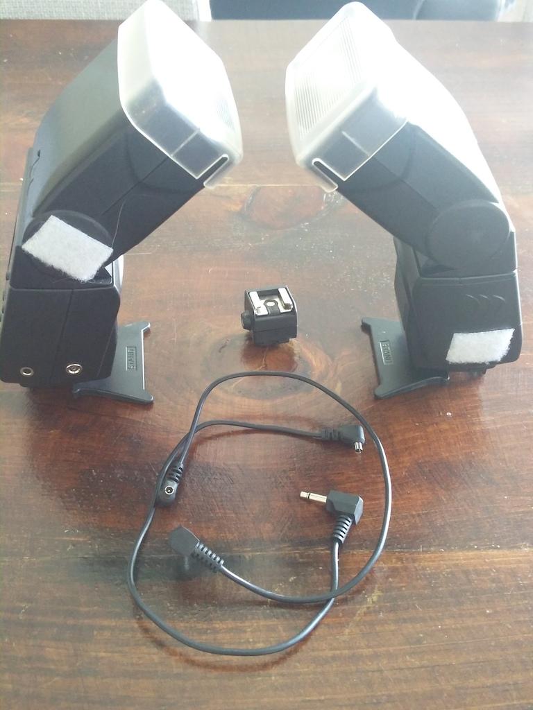 0 LumoPro LP 160 Quad Sync Flash (set of 2)
