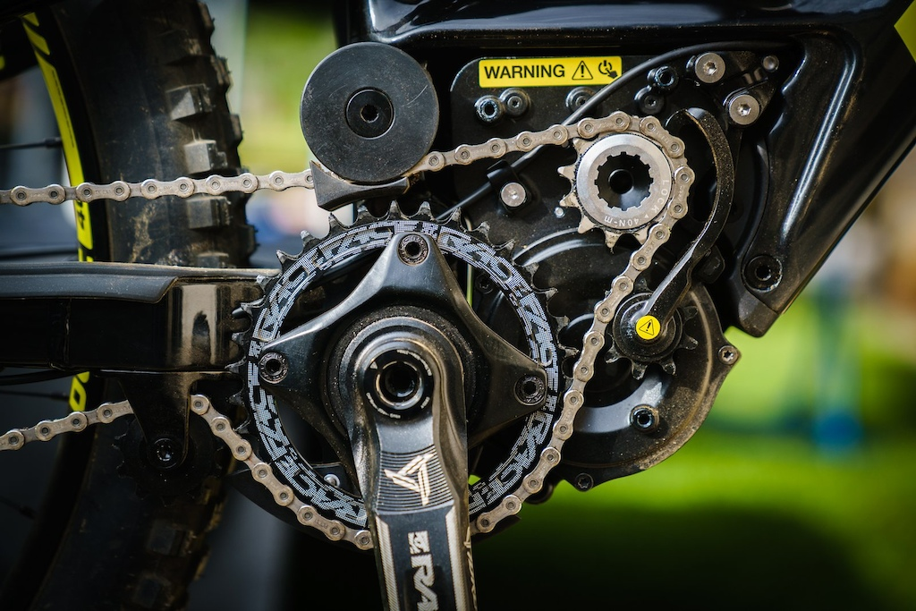 The proprietary motor and bike is assembled in Quebec.