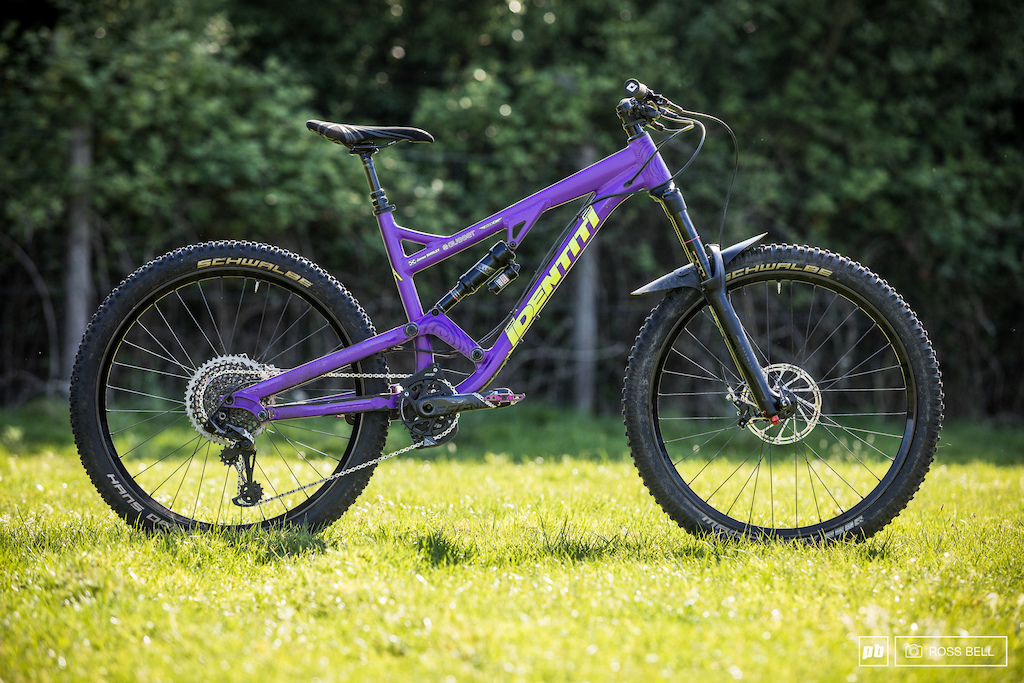 A new bike to the EWS circuit the Identiti Mettle will be James Shirley s weapon of choice for the year.