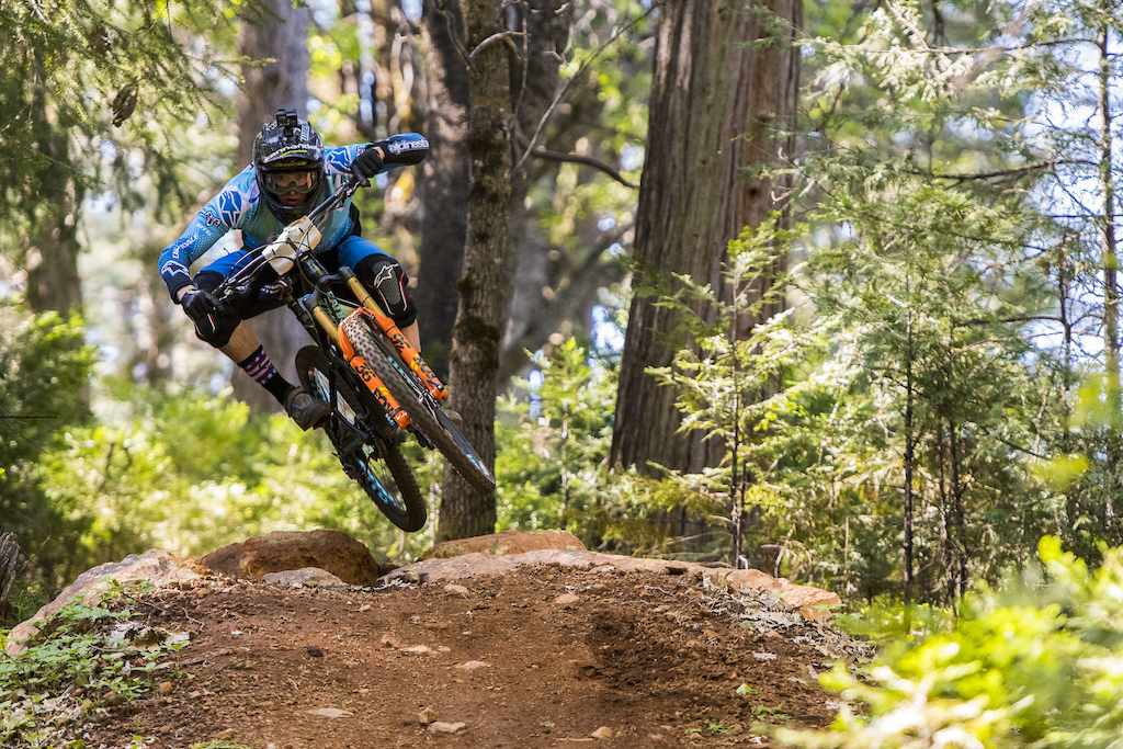Marco Osborne Stage Ready at TDS Enduro