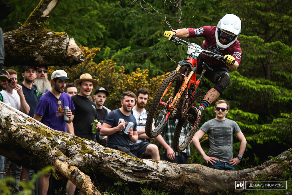 Robin Wallner had his best ever EWS finish today with a 6th place.