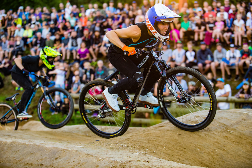 Queen Kintner on the Hunt in Crankworx Doubleheader
