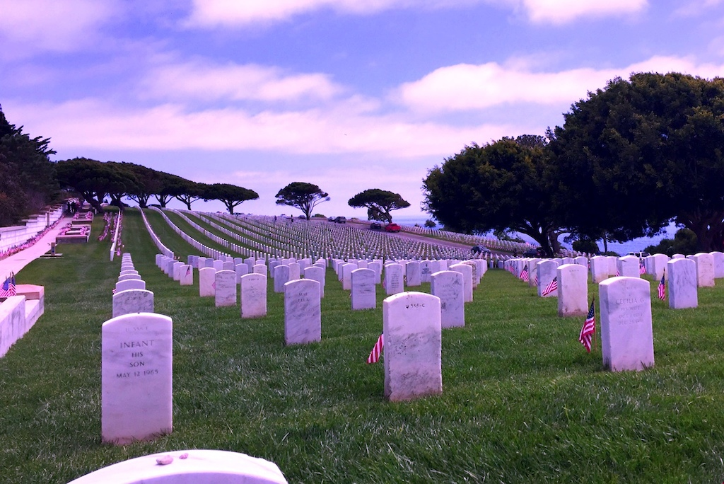 Memrial day. serenty on a solemn day. Never forget!