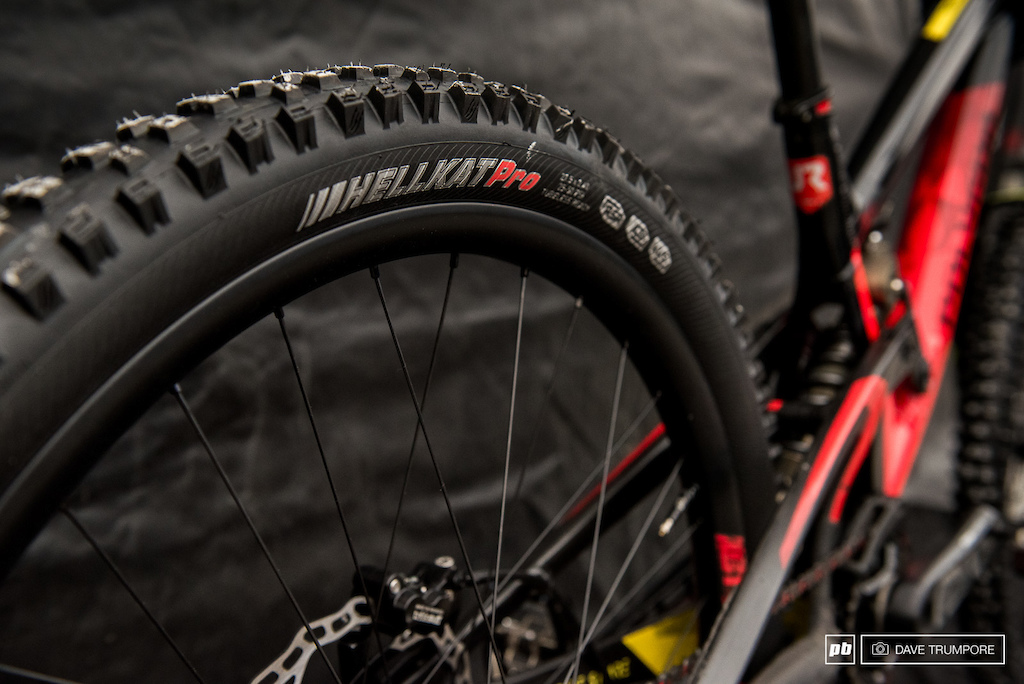 Kenya s new DH tire... No Sharpie required.