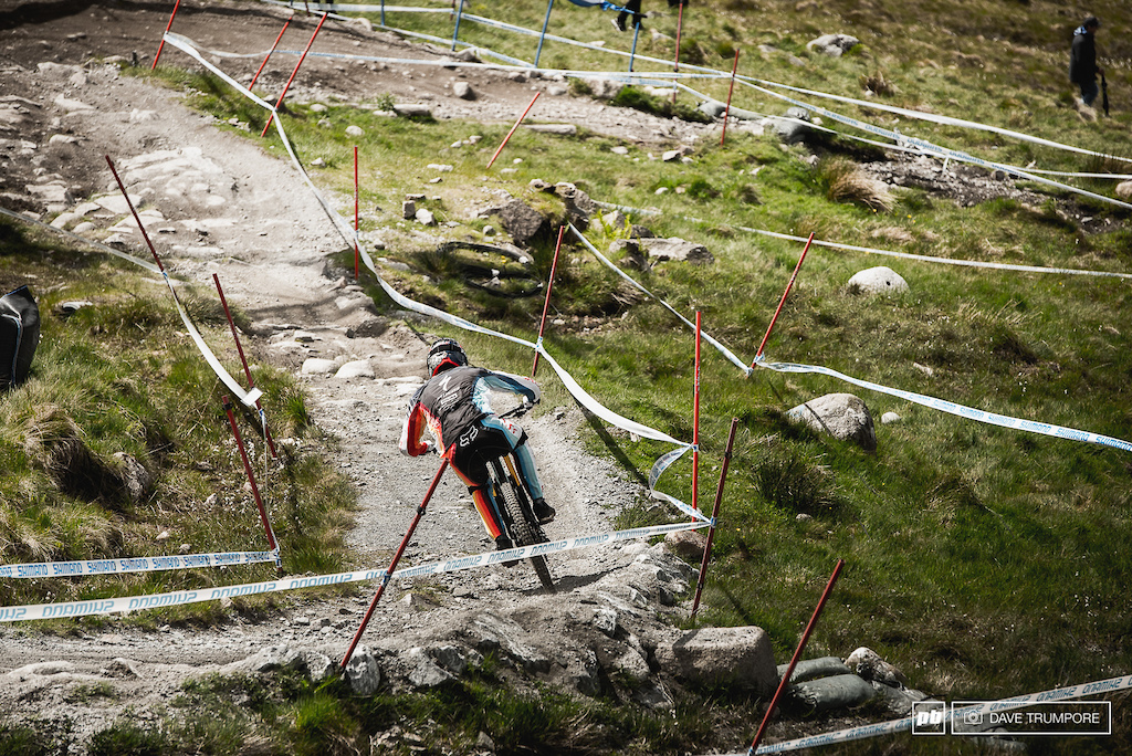 Loic Bruni showing the rocks who's boss.
