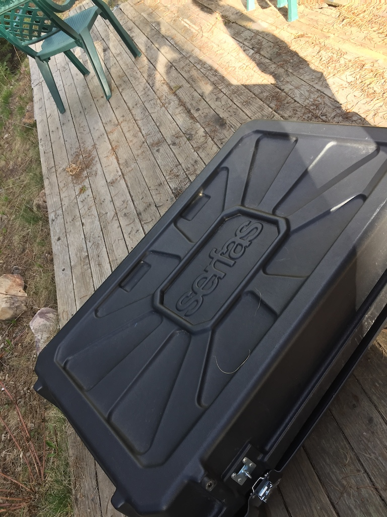 2015 Serfas bike transport box