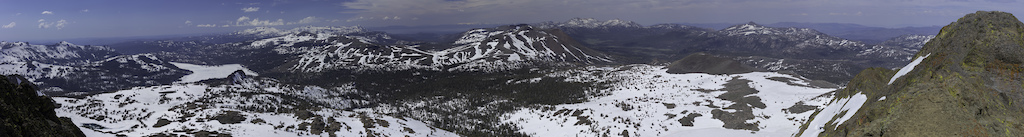 Round Top Mountain looking out towards Lake Tahoe